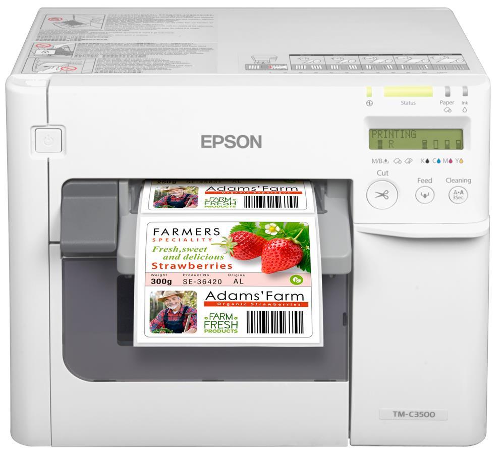 Imprimantes d'Étiquettes Couleur