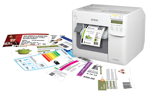 impresora etiquetas color